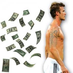 david beckham money