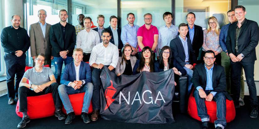 El trading social de Naga Group