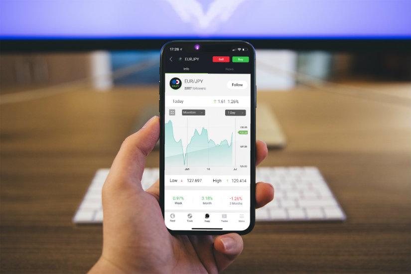Qué es el trading social