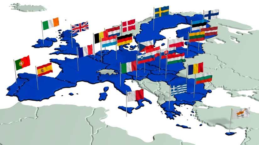Estados que pertenecen a la Unión Europea
