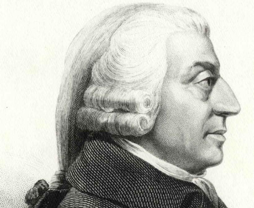 Biografía resumida de Adam Smith
