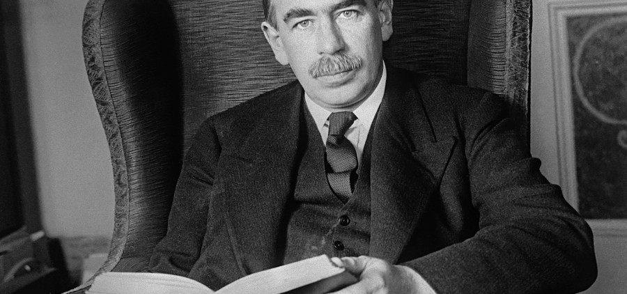 ¿Cuáles fueron los aportes de John Maynard Keynes?