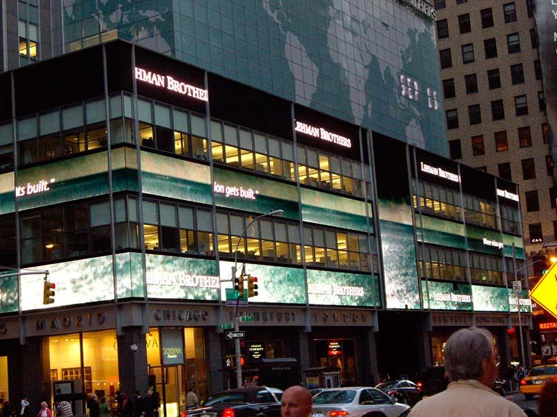 Causas de la caída del Lehman Brothers