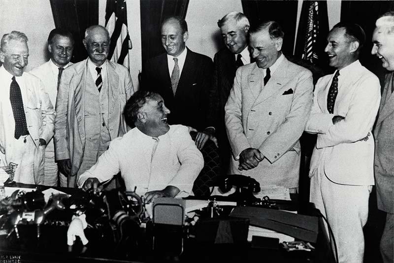Objetivos del New Deal