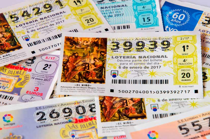 Retención de los premio de la lotería